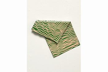 J Cloth (Green Wavy)